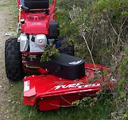 Lawn Mower, Scythe, Brush Cutter, Turf Cutter, Power